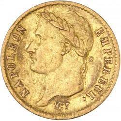 20 francs Napoléon Ier 1814 W