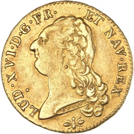 Louis XVI - Double Louis d'or 1786 D