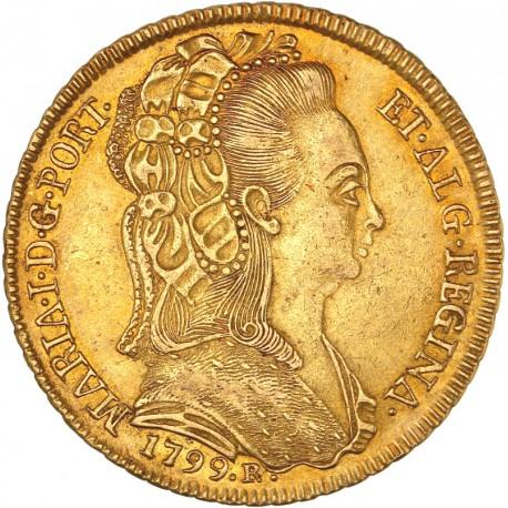 Brésil - 6400 reis 1799