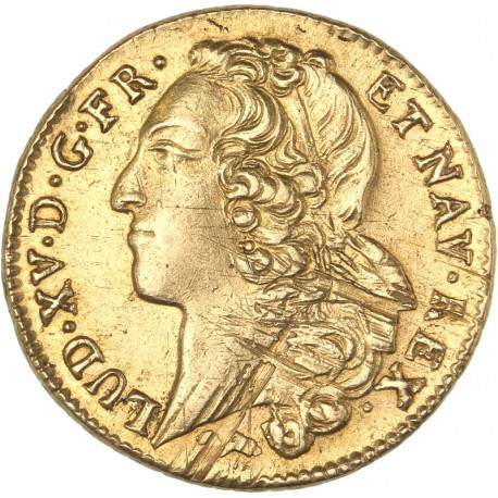 Louis XV - Double Louis d'or 1758 L Bayonne