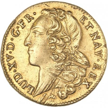 Louis XV - Double Louis d'or 1758 L Bayonne
