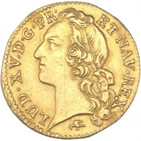 Louis XV - Louis d'or 1754 D Lyon