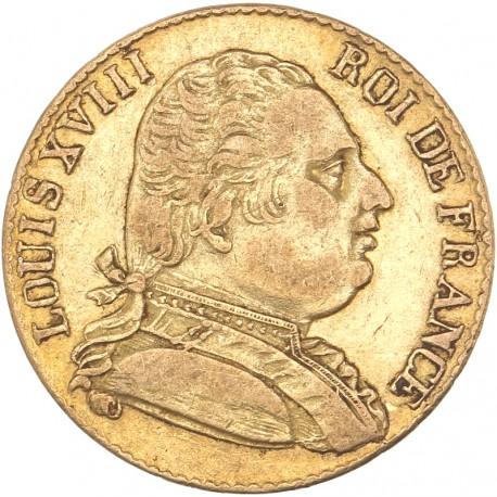 20 francs Louis XVIII 1815 R