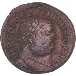 Follis de dioclétien - Alexandrie