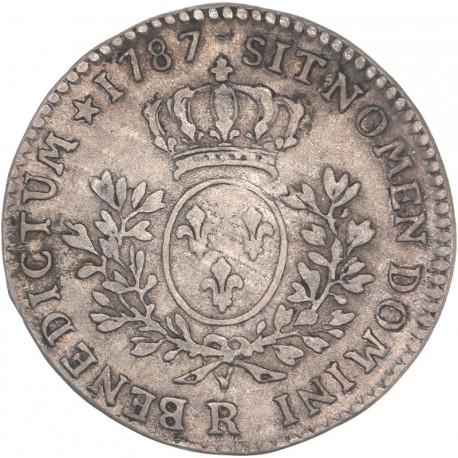 Louis XVI - 1/5 d'écu aux lauriers - 1787 R Orléans