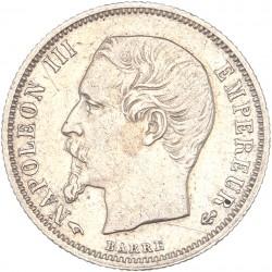 50 centimes Napoléon III 1860 A.
