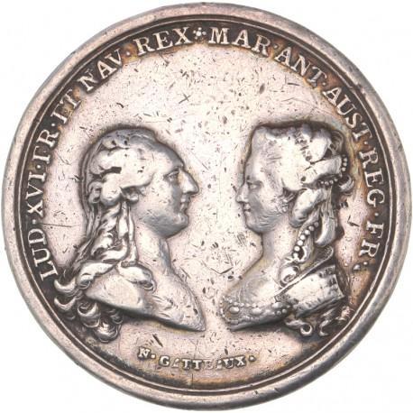 Louis XVI - Médaille de la naissance du Dauphin 1781