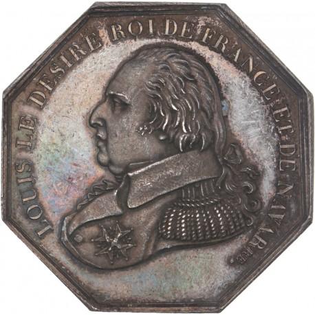 Jeton Louis XVIII