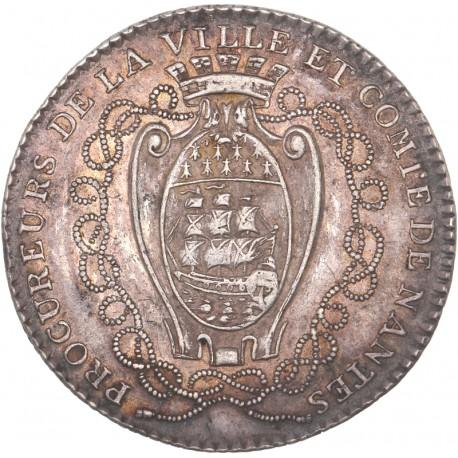 Louis XVI - Jeton des procureurs de Nantes