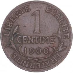 1 centime Dupuis 1900