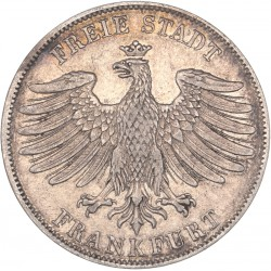 Allemagne 1 florin Frankfort 1840