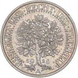 République de Weimar - 5 reichmark 1928 A
