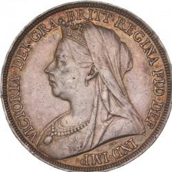 Grande Bretagne - 1 couronne Victoria 1897