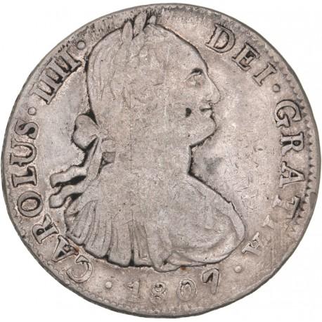 Mexique - 8 réales Charles IV 1807