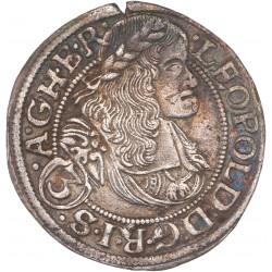 Autriche - 3 Kreuzer Léopold Ier
