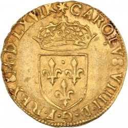 Charles IX - Ecu d'or 1566 Toulouse