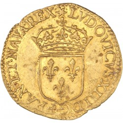 Louis XIII - Ecu d'or 1640 D Lyon