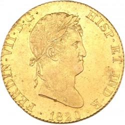 Espagne - 4 escudos Ferdinand VII - 1820 Madrid