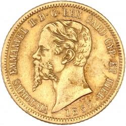 Italie - Sardaigne - Victor Emmanuel II 1857