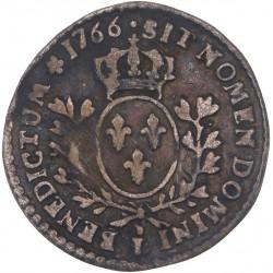 Louis XV - 1/20ème d'écu au bandeau 1766 L