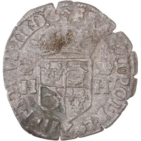 Henri III - douzain du Dauphiné - 1578 - Grenoble