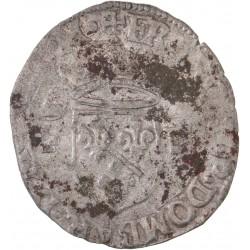 La Dombes - Teston de François II 1588