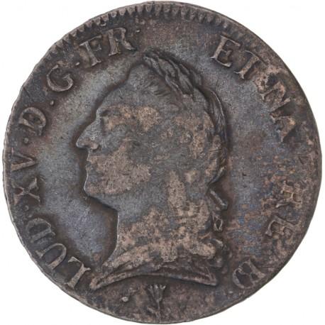 Louis XV - Ecu à la tête 1773 Pau