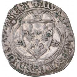 Louis XI - Blanc à la couronne de Paris