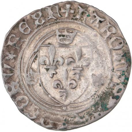 Charles VIII - Blanc à la couronne de Montélimar