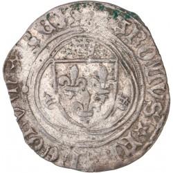 Charles VIII - Blanc à la couronne de la Rochelle