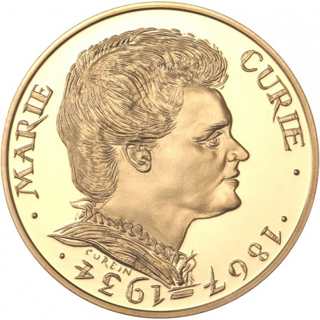 100 francs or Marie Curie