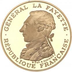 100 francs or Lafayette