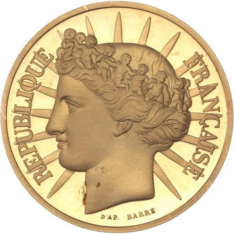 100 francs or Fraternité