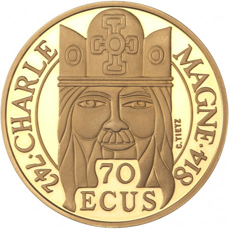500 francs or Charlemagne