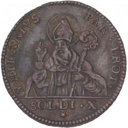 Duché de  Parme -10 soldi 1789