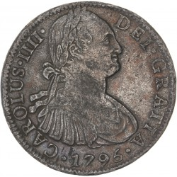 Mexique 8 reales 1795