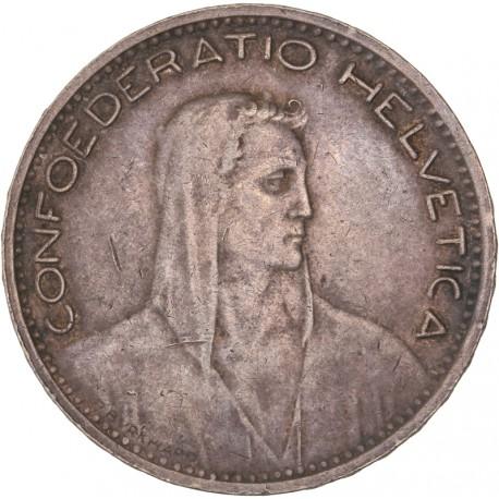 Suisse - 5 francs 1923 B