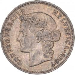 Suisse - 5 francs Helvetia 1907 B