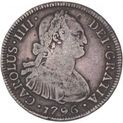 Chili - 4 réales Charles IV 1796 Santiago