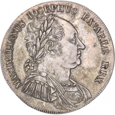 Allemagne - Bavière - Thaler de Maximilien Joseph - 1818