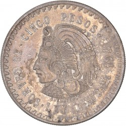Mexique - 5 pesos 1948