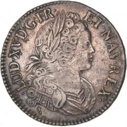Louis XV - Ecu de France-Navarre 1718 Lille