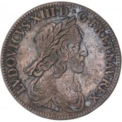 Louis XIII - 1/4 d'écu  1643 A