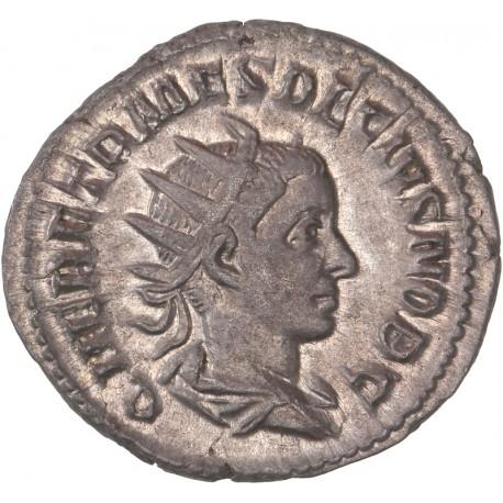 Antoninien d'Hérennius Etruscus - Rome