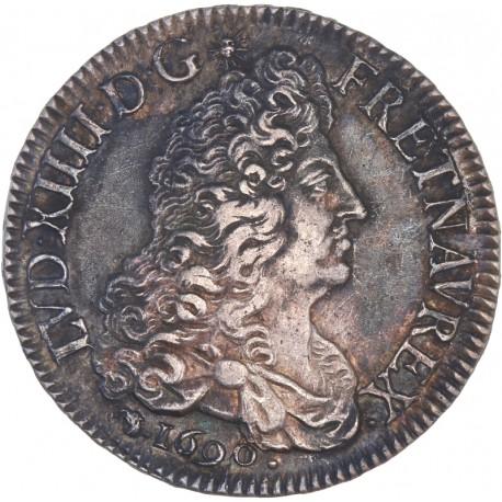 Louis XIV - Ecu aux 8L - 1690 D Lyon