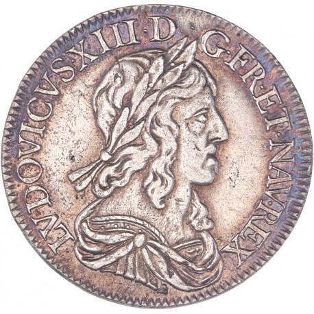 Louis XIII - Demi écu 1643 D Lyon