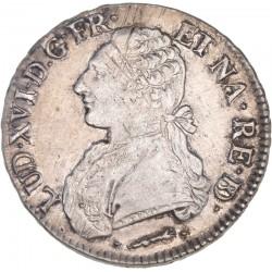 Louis XVI - Ecu aux lauriers - 1780 Pau