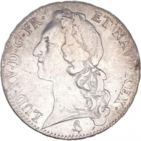 Louis XV - Ecu au bandeau 1762 A paris