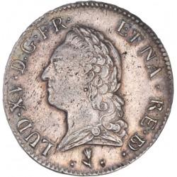Louis XV - écu à la vieille tête 1771 Pau