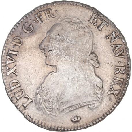 Louis XVI - Ecu aux lauriers - 1786 M Toulouse